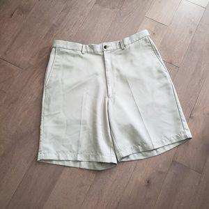 Haggar khaki Mens shorts